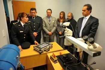 Inaugurán Subdelegación de la Policia Científica en el Partido de